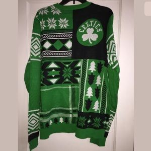NBA Sweaters - 🍀 🆕 BOSTON CELTICS NBA Klew Sweater Size L RARE